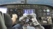 Watch DARPA's autopilot system fly a turboprop plane