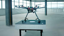 Wireless charging will make drones always ready to fly