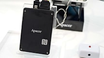 Apacer 展出內建 NFC 的 SSD