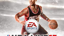 Damian Lillard trail-blazes to NBA Live 15's cover