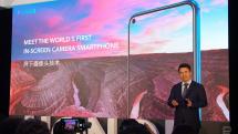 「世界初」ディスプレイ内カメラ搭載スマホ Honor View 20公開。パンチホール式スマホ続々