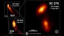 Scientists visualize a black hole plasma jet in unprecedented detail