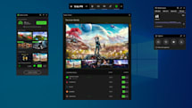 Xbox Game Bar's new widgets link to apps like XSplit