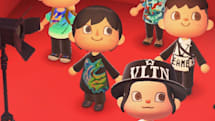 Top fashion houses are showing their latest styles in 'Animal Crossing'