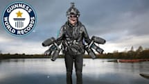 The guy who built his own Iron Man suit now has a Guinness record