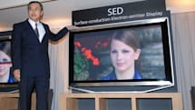 55-inch SED HDTVs on the way in '08