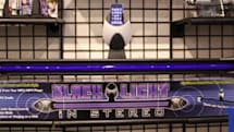 A giant pulsing blacklight for your iPhone or iPod