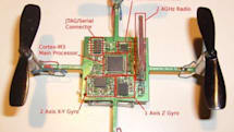 Tiny CrazyFlie quadrocopter piloted by Playstation controller, does not run Doom (video)