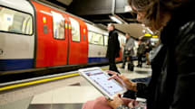 Three customers will soon get free WiFi on the Tube