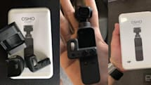 DJI leak reveals teeny-tiny Osmo Pocket gimbal