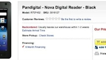 Pandigital's Nova Android tablet hits Best Buy, explodes for $170