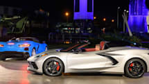 Chevrolet unveils convertible and race car versions of its 2020 Corvette