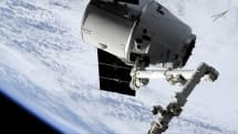 SpaceX delivered 5,500 lbs of cargo to the International Space Station today
