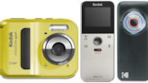 Kodak intros Easyshare Touch, Mini and Sport cameras, Playfull and Playsport camcorders