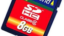 Transcend announces 4GB and 8GB SDHC cards