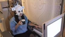 This funky helmet makes brain-scanning more comfortable