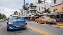 Ford will test self-driving car service on Miami streets