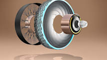 Goodyear's smart tire concept 'prints' its own treads