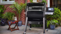 Weber embraces modern grilling with a WiFi-enabled pellet model