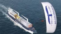 Kite-assisted ship to set sail in January