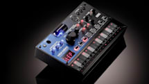 Korg's Volca Nubass is a vacuum tube analog synthesizer