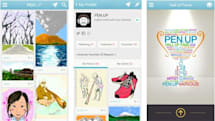 Samsung builds a social networking app around S Pen doodles