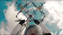 Watch the world's first skydive from a drone