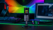 Razer built an RGB microphone that displays live stream emotes