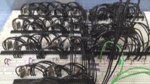 Homebrew 8-bit computer packs in 16 cores, multitasks like a champ