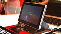 Gigabyte announces S1080 Windows 7 tablet with USB 3.0 and optical drive dock