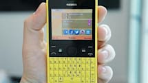 Nokia announces Asha 210: a colorful QWERTY with a social heart, we go hands-on (video)