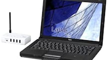 NEC gifts LaVie J laptop lineup with wireless USB