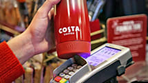 This reusable coffee cup has contactless payments built in