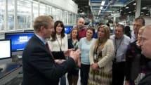 Irish Prime Minister visits Apple's European headquarters
