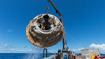 Check out this HD footage of NASA's flying saucer in action