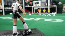 Bend it like robo-Beckham with the U14 Free Kick toy