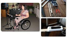 DIY: Make your Rock Band drum kit wheelchair accessible