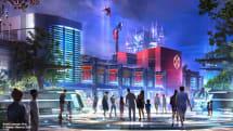An animatronic Spider-Man will soon swing over Disneyland