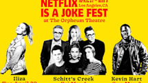 Netflix is hosting a live comedy festival in Los Angeles this spring