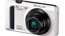 Casio Japan says its new Exilim EX-ZR300 compact camera is fast and furious