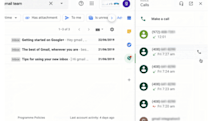 G Suite users can make Google Voice calls right inside Gmail