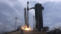 SpaceX's historic launch succeeds on its second attempt