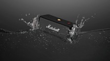Marshall's waterproof Emberton speaker lasts for 20 hours