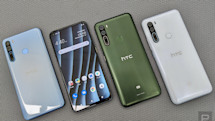 HTC's first 5G smartphone is the mid-range U20