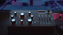 Dreadbox's portable Typhon analog synth is loaded with effects