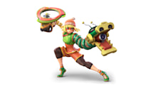 The next 'Super Smash Bros. Ultimate' fighter is Min Min from 'Arms'