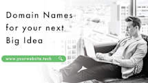 Build your brand online with a .tech domain name