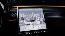 Mercedes' new touchscreen controls eliminate 27 physical buttons