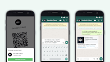 Businesses on WhatsApp can share their info with QR codes