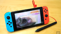 This pressure-sensitive stylus lets you draw on the Switch
